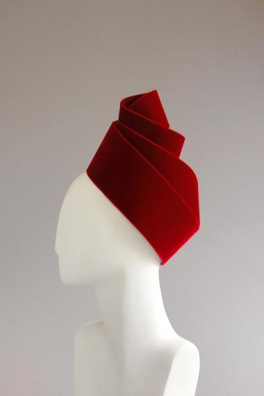 01 turban velours isabelle leourier 1994
