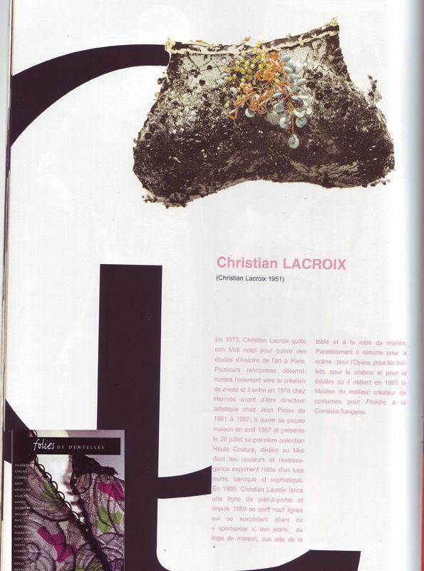14 sac christian lacroix 1999 isabelle leourier