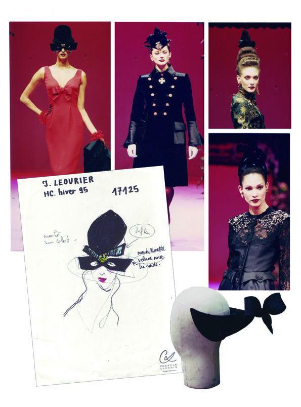 20 defile haute couture christian lacroix 1995 isabelle leourier