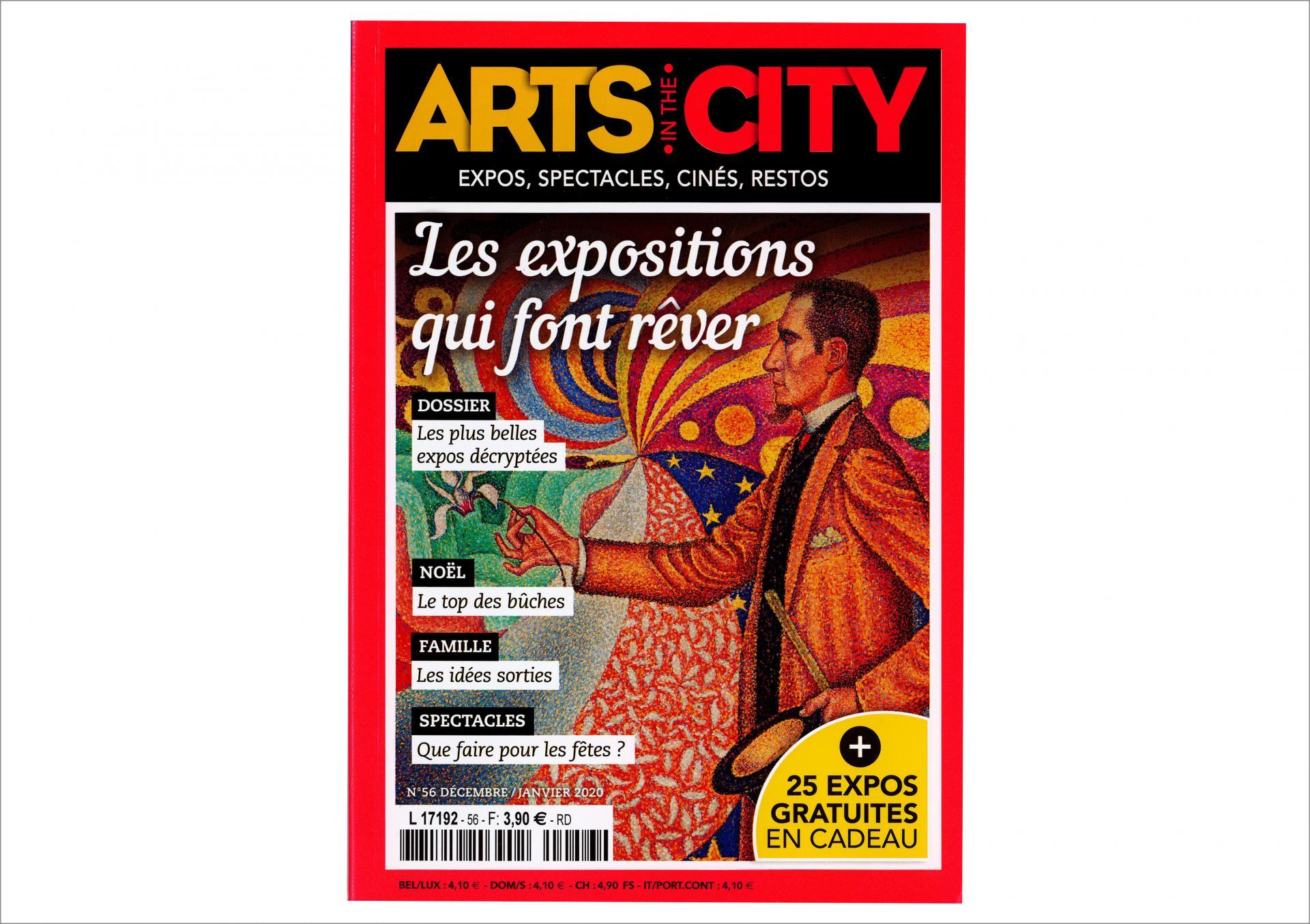 Art in the city couverture des 2019