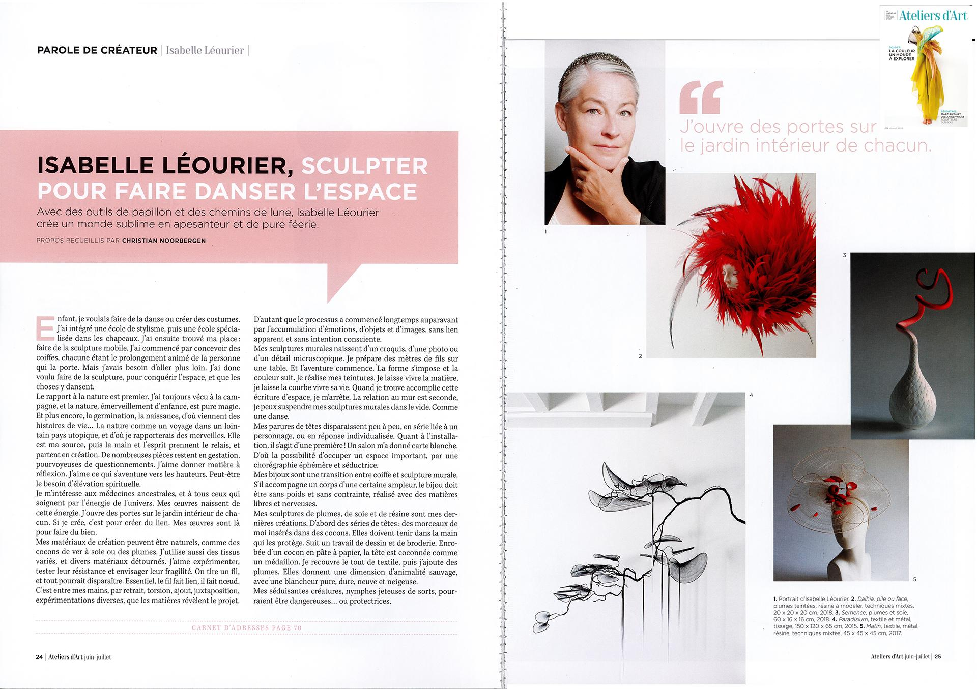 Isabelle leourier parution aaf juin 2021 bd double page pour weeb
